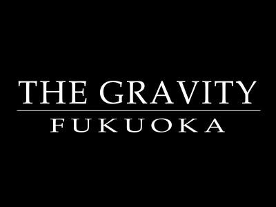 THE GRAVITY FUKUOKA(グラビティ フクオカ)ロゴ