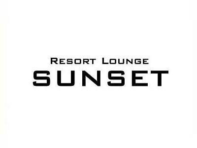 RESORT LOUNGE SUNSET(サンセット)ロゴ
