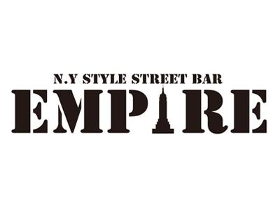 N.Y STYLE STREET BAR EMPIRE(エンパイア)ロゴ