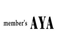 member´s AYA(メンバーズ アヤ)ロゴ